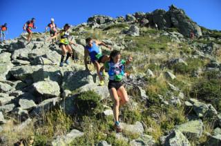Atasco en el descenso del Montón de Trigo