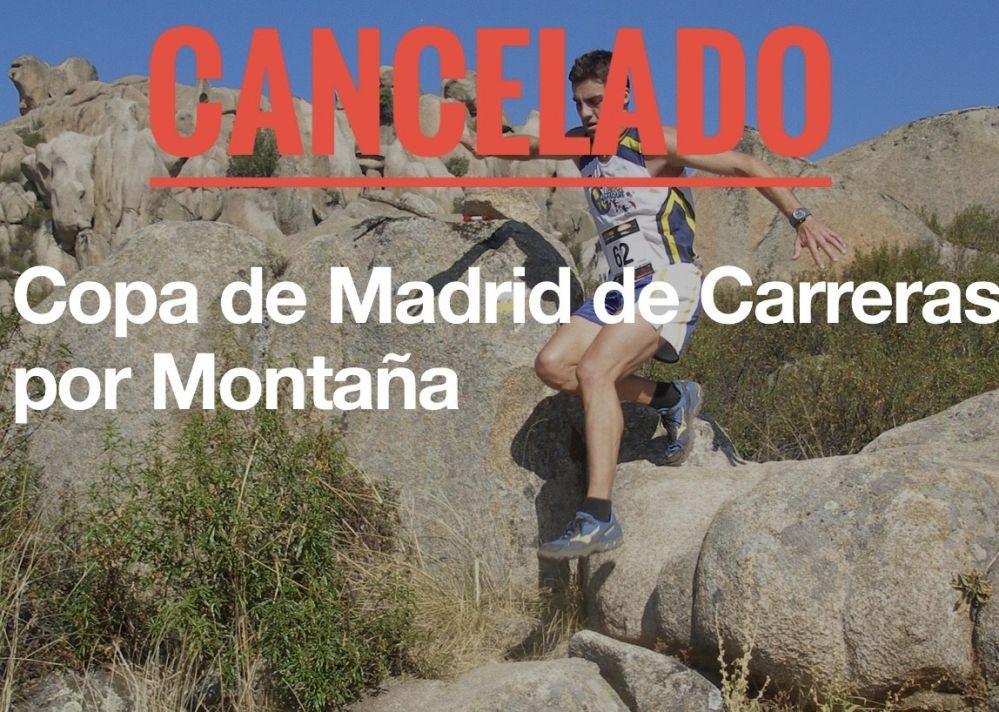 Cancelada la copa de Madrid de carreras por montaña 2020