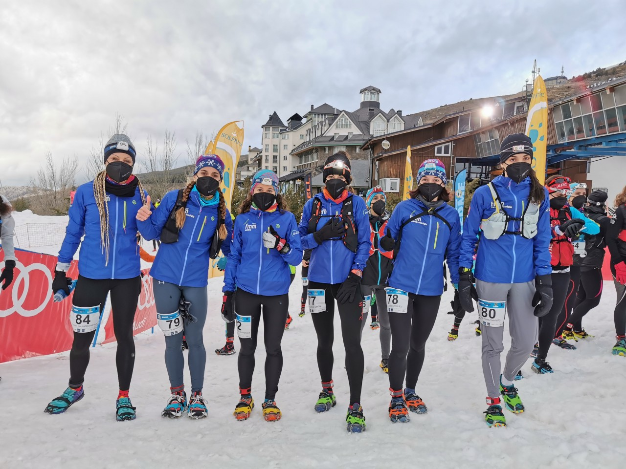 Equipo Madrileño Femenino Absoluto de Snowrunning